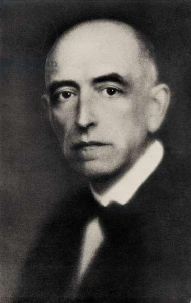 Manuel de Falla portrait