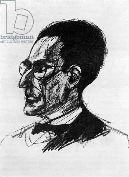 Otto Klemperer -portrait