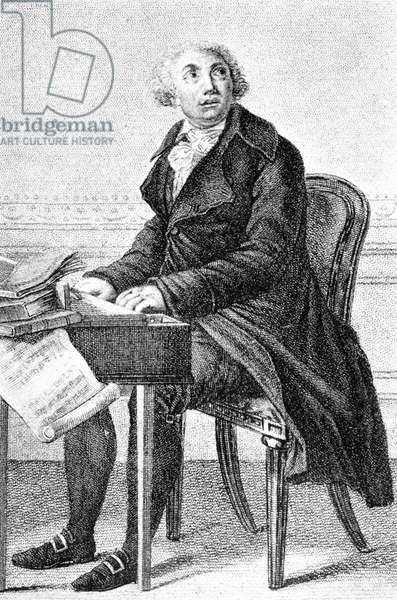Giovanni Paisiello playing the