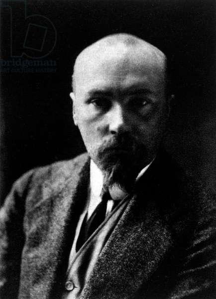 Nicholas Roerich - portrait