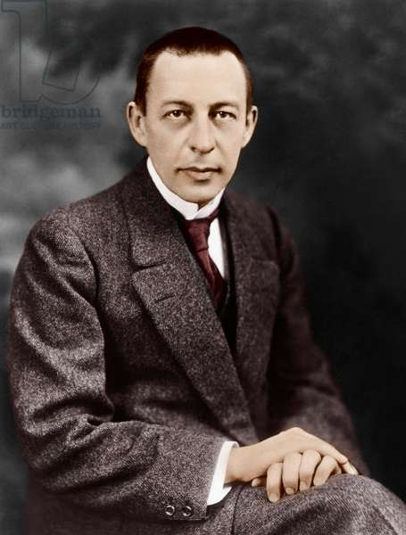 Sergey Rachmaninov - portrait