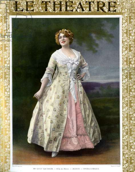 Lucy Vauthrin in tile role in Manon