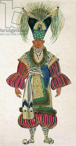 Costume for Barbizon in La Lampe d'Aladin