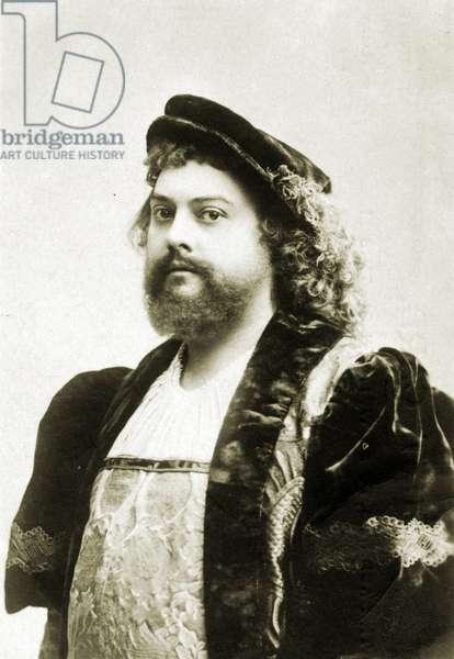 Ernest Van Dyck Portrait