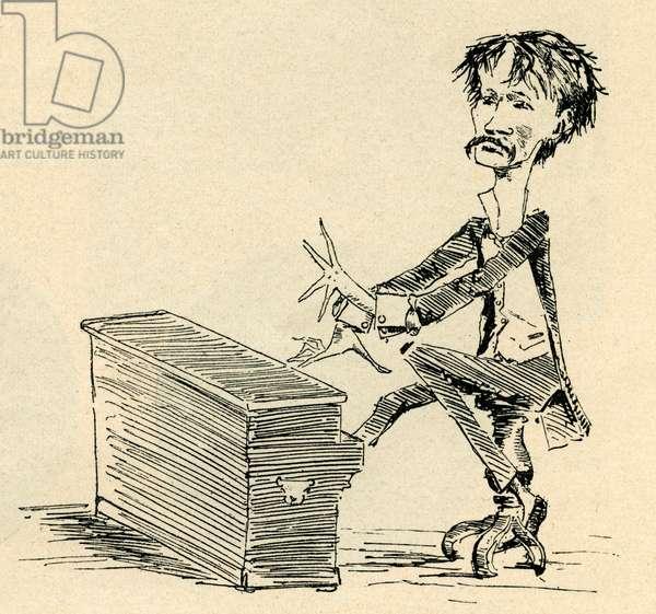 Arrigo Boito - caricature