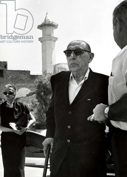Igor Stravinsky in Jaffa