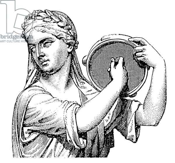 Tambourine Ancient and primitive