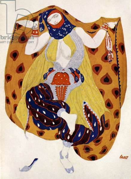 'Odalisque' design for Nicolai