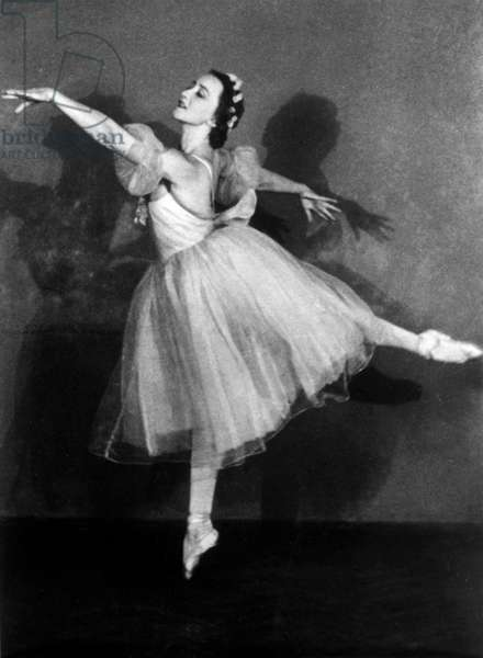 Galina Ulanova as Giselle