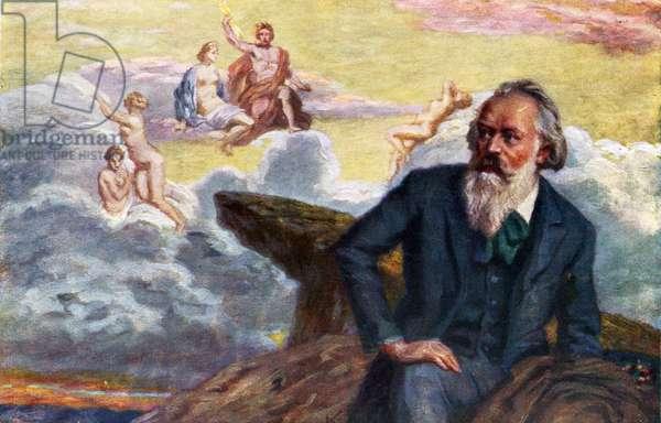 Johannes Brahms - portrait