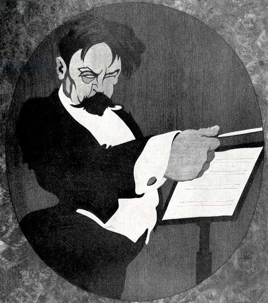 Arthur Nikisch by Krotowski