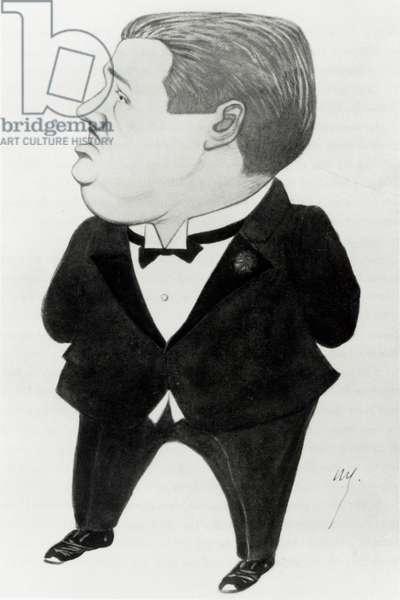 DIAGHILEV Sergei - caricature