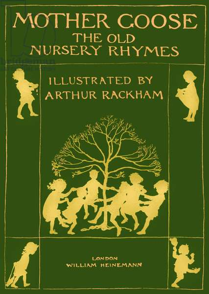 Mother Goose, the old nursery rhymes, title page
