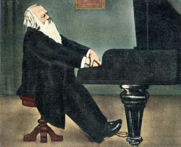Johannes Brahms at the
