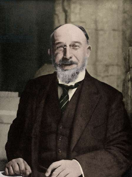 Erik Satie in 1918 - portrait