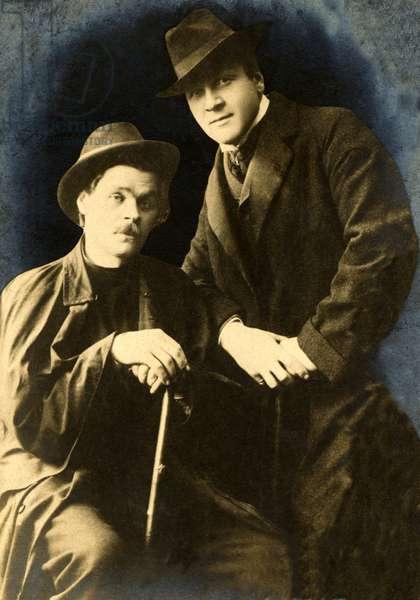 CHALIAPIN Feodor with Maxim