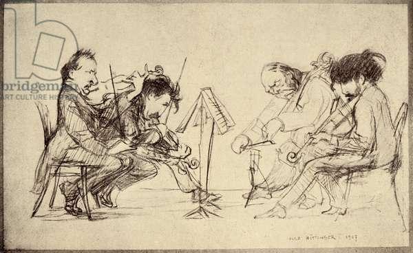 Bohemian Quartet by Hugo