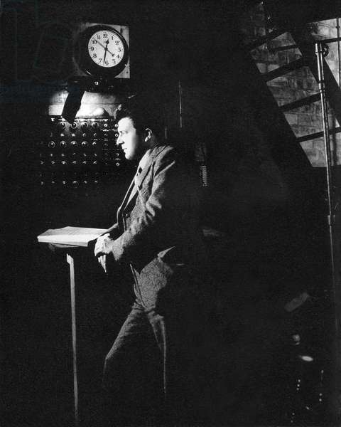 Stage director, Sadlers Wells   c. 1937-38