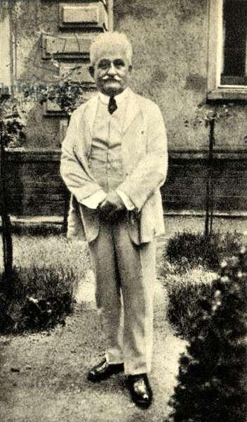 L Janacek at home