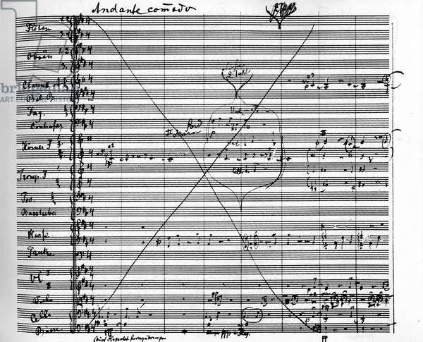 Gustav Mahler  9th Symphony score