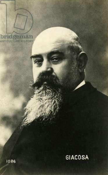 Giuseppe Giacosa composer of