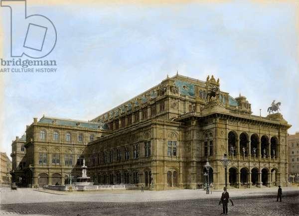VIENNA OPERA HOUSE c1900