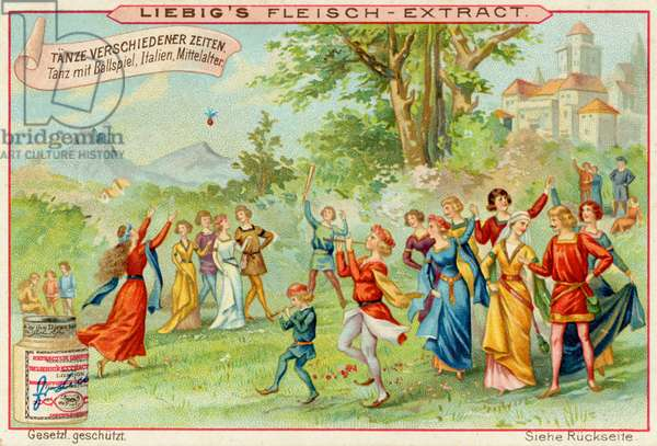 Medieval Italian festivities with