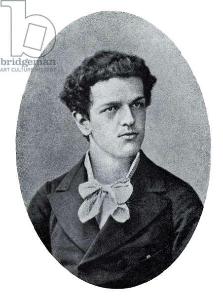 Claude Debussy portrait c. 1880