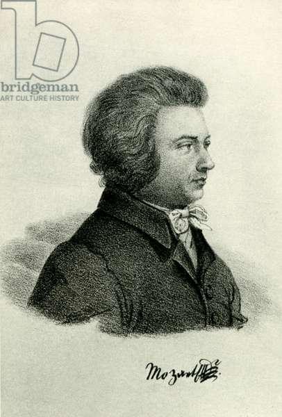 Wolfgang Amadeus Mozart Austrian