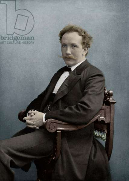 Richard Strauss portrait German