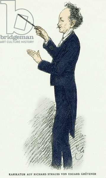 STRAUSS Richard - Conducting 1912