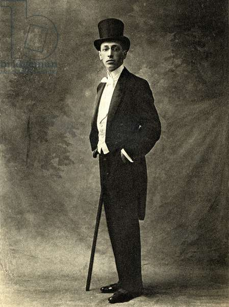 Igor Stravinsky at time