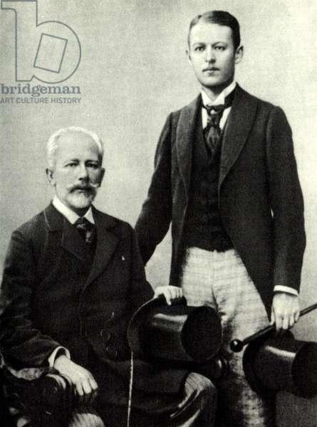 Pyotr Il'ych Tchaikovsky with