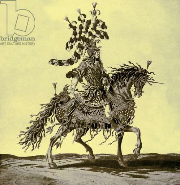 Henri de Gissey 's costume for a Horse Ballet
