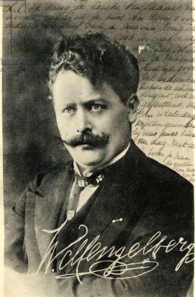 Willem Mengelberg portrait with
