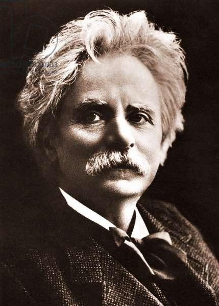 Edvard Grieg - portrait