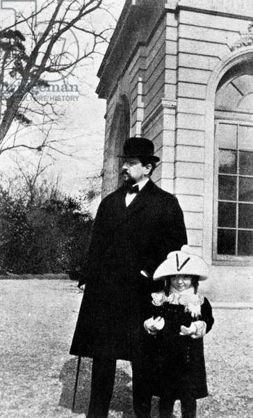 Claude- Emma (Chouchou) Debussy with Claude