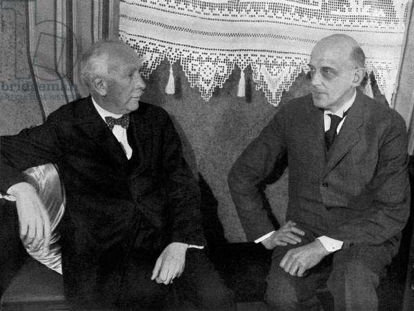 Richard STRAUSS and Max von Schillings at  Intermezzo