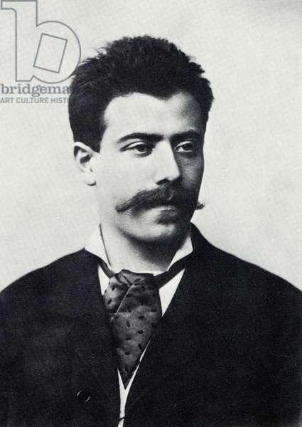 MAHLER Gustav in 1884