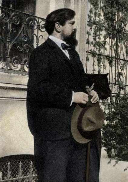 Claude Debussy in the Bois-du-Boulogne, 1905