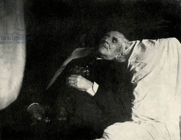 Franz Liszt on his death bed