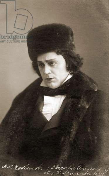 Leonid Sobinov - portrait