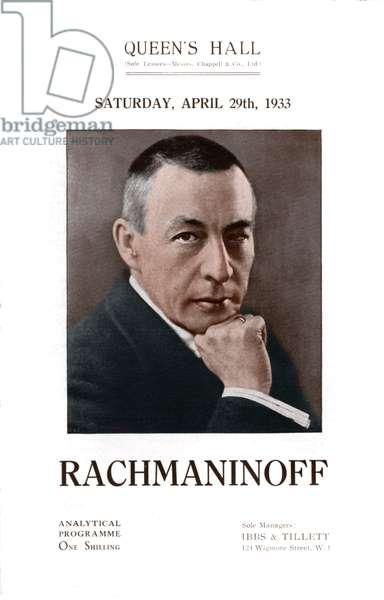 Sergey Vassilievich Rachmaninov Queen's