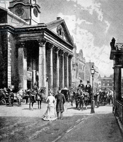 Hanover Square, London.