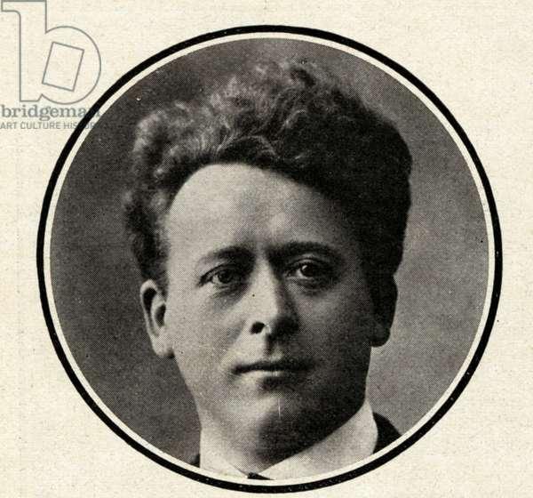 Willem Mengelberg portrait Dutch