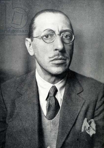 Igor Stravinsky - portrait