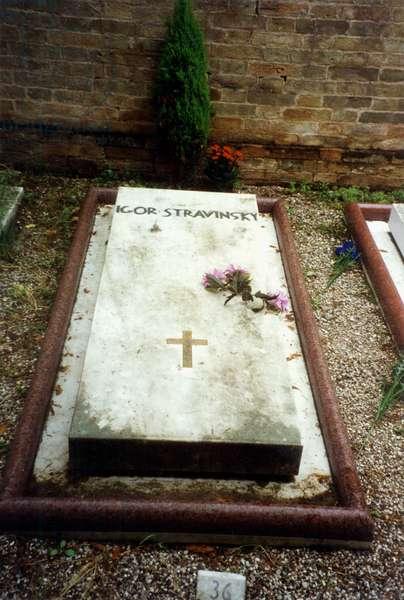 STRAVINSKY Igor - grave