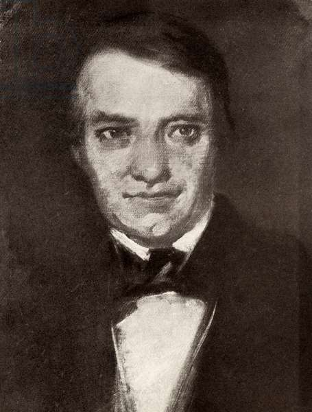 Ferdinand Schubert - portrait