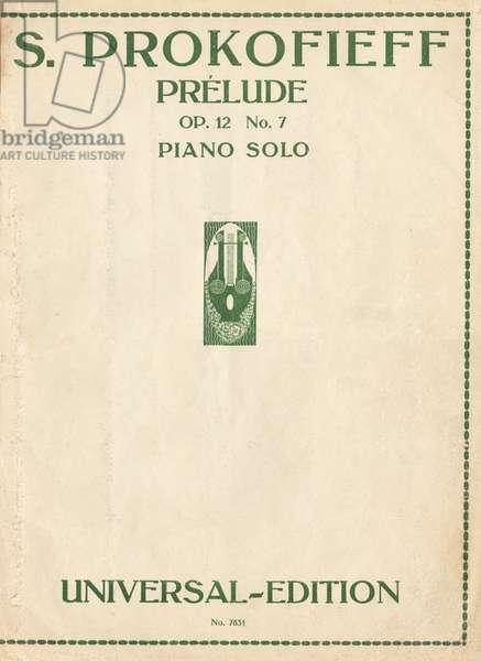 Sergei Prokofiev - Prélude