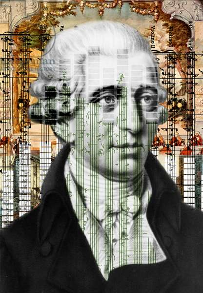 Franz Joseph Haydn collage